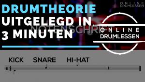 Drumtheorie uitgelegd in drie minuten